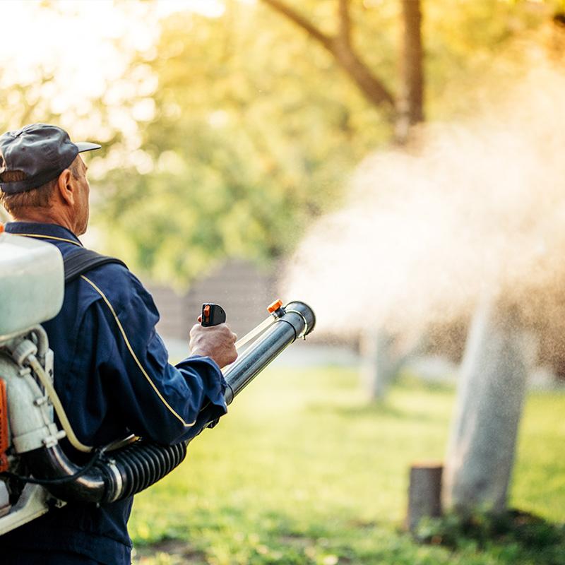 Maquinaria y tecnología para desinfectar
