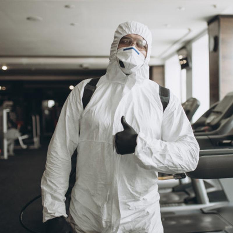 Personal de desinfección