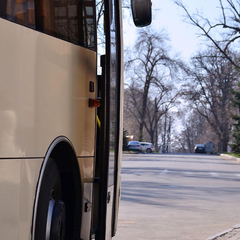 Traslado de personal en buses